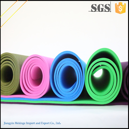 Fashionable TPE Yoga Mat, Yoga Mat Eco Made in China