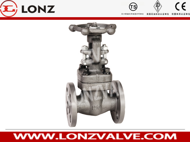 Forged Steel Flange End Gate Valve