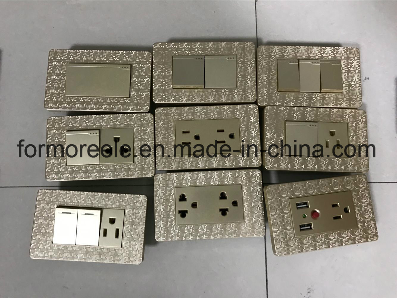 South America Wall Switch/118 Type Wall Switch