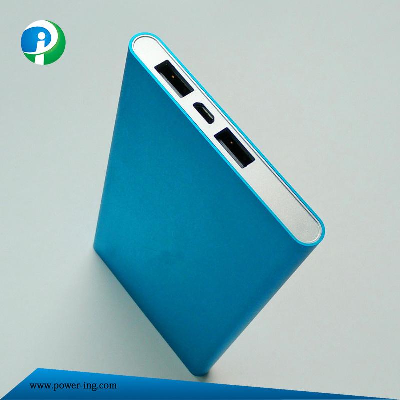 10000mAh High Capacity Aluminium Alloy Power Bank for Smart Phones