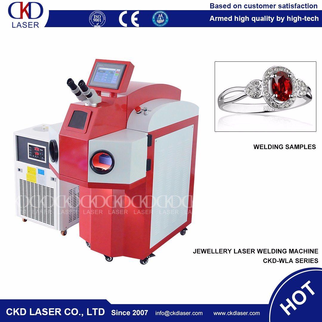 Laser Spot Welding System for Jewelry Soldering