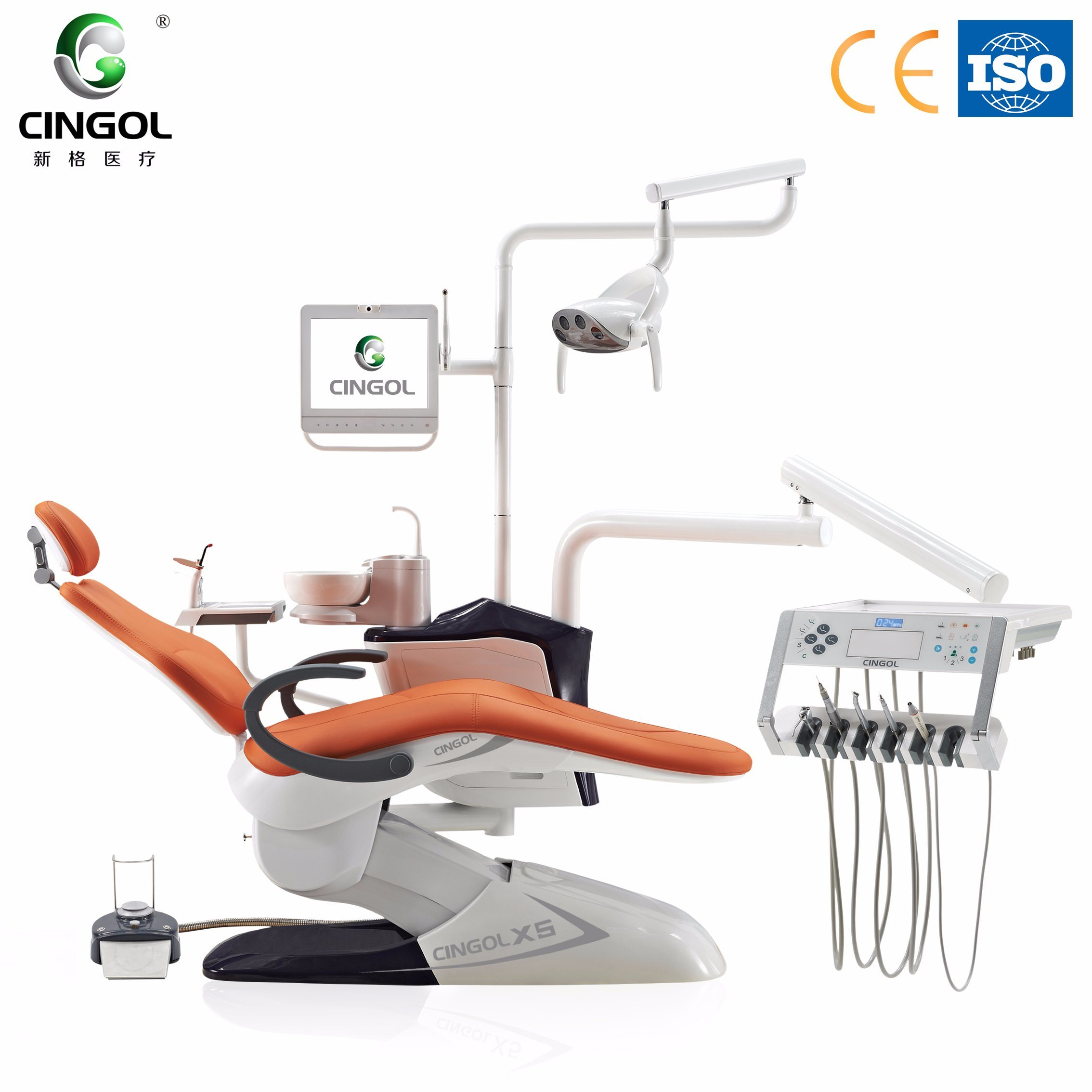 Luxury Fashion and Confortable X5 Dental Chair