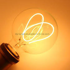 Soft filament LED light incandescent lamp bulb energy saving