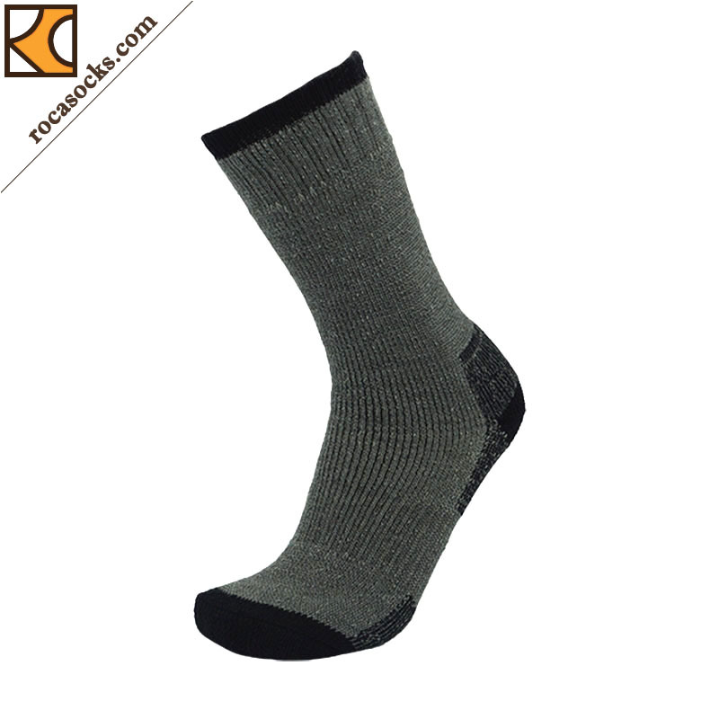 Men′s Merino Wool Outdoor Thermal Socks (162016SK)