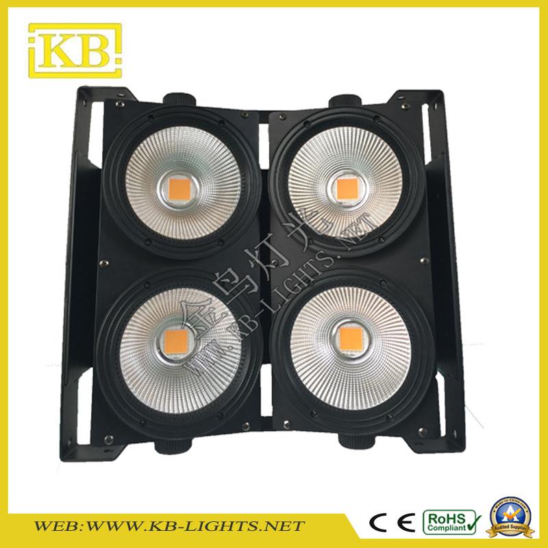 High Brightness 4eyes 4*100W LED COB Blinder Lighting