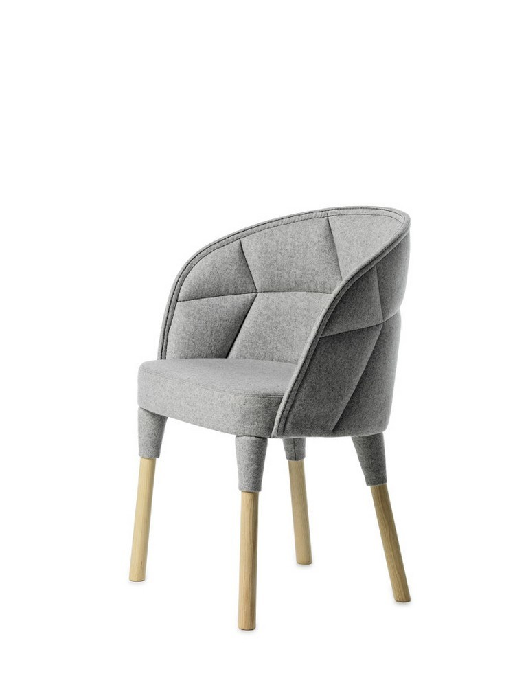 Modern MID Century Modern Furniture Restaurant Project Emily Chair