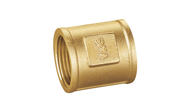 China Manual Ball Valve Brass Fitting with Fxf