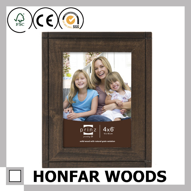 Personalized Rustic Wood Picture Frame for Wall Decoration