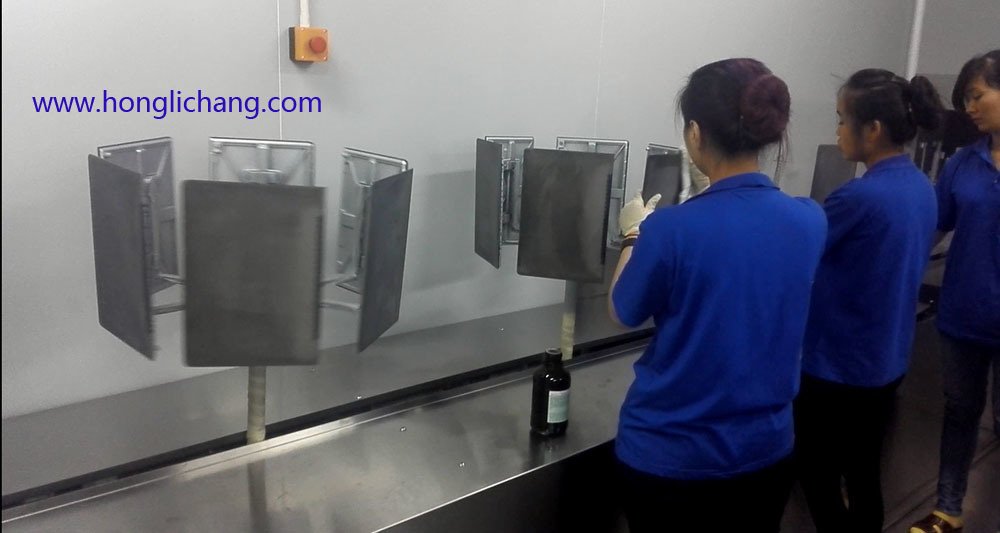 Turnkey Automatic Spray Guns Coating Line for Tablet PC