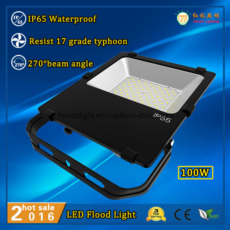 Philips Brand LEDs 3 Years Warranty 100W Outdoor IP65 LED Flood Light Bulb