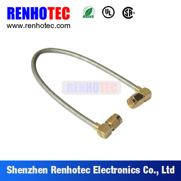 Double SMA Coaxial Waterproof Cable Assembly