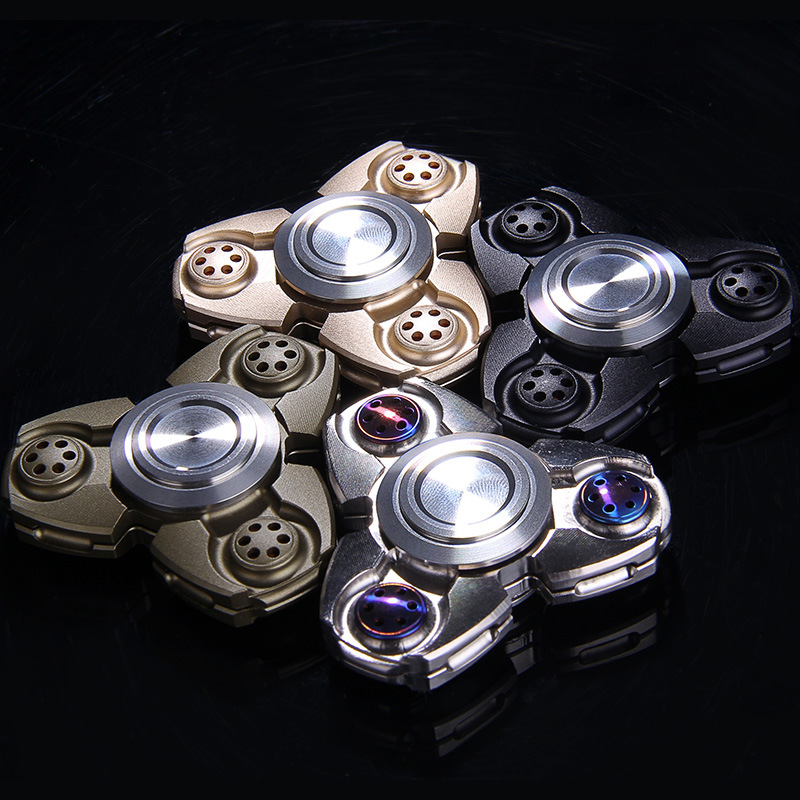 The Spot Fidgets Omega Tri-Spinner Fidget Toy