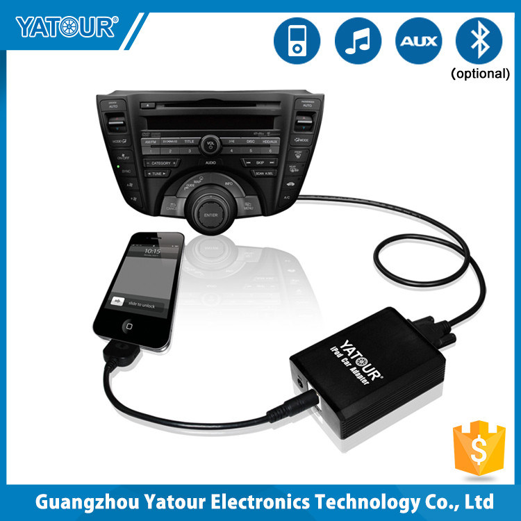 for Yatour iPod/iPhone Music Adapter for VW/BMW/Toyota/Nissan/Honda.