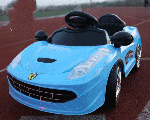 Remote Control Baby for Porsche Electric Car for Kids