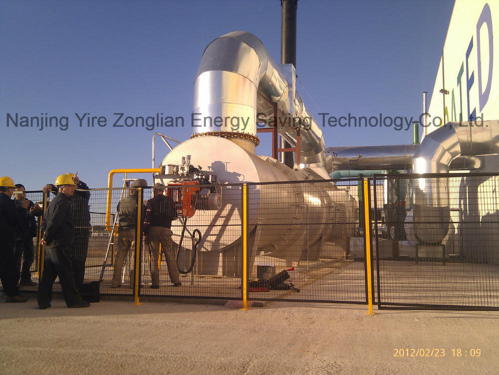 Heat Exchanger Energy-Saving Incineration System