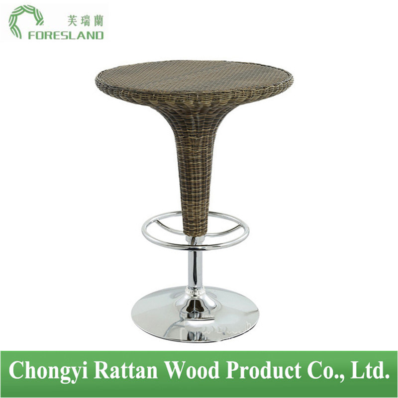 PE Rattan Weaving Bar Table PT-06