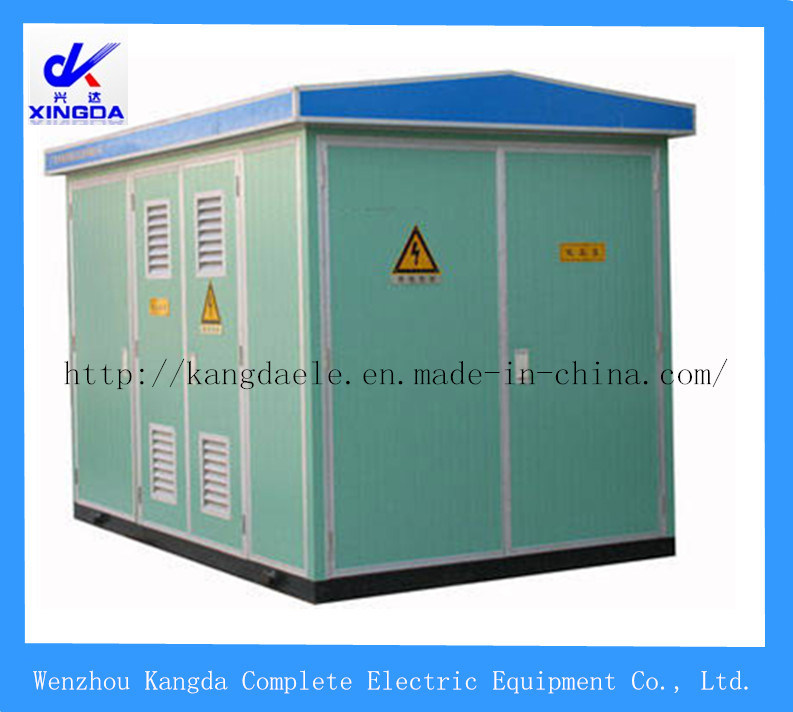 Yb-12/0.4 Prefabricated Box Transformer (landscape type)