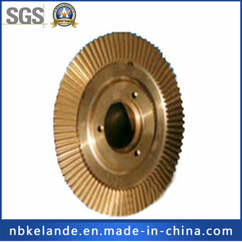 Brass Custom Made CNC Machine Part with Casting