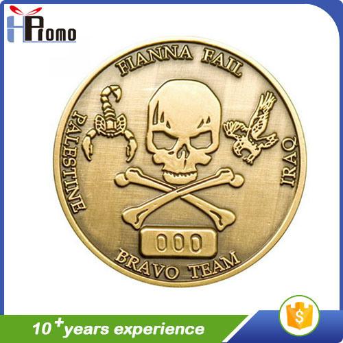 Cheap Enameled Antique Souvenir Metal Coin
