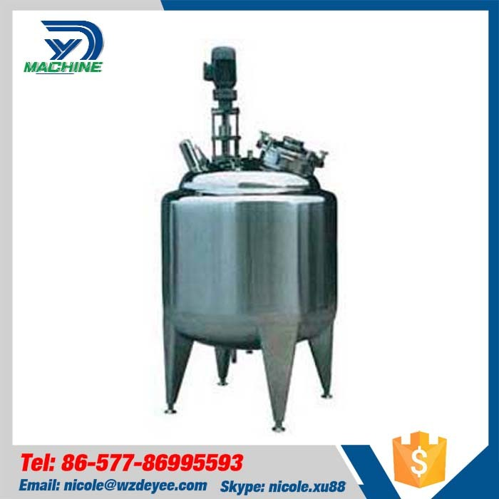 Stainless Steel Cooling and Heating Mixing Storage Tank