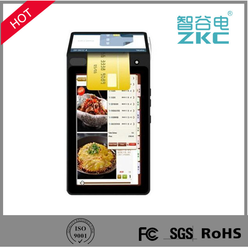 Zkc900 NFC Card Reader Thermal Printer Mobile Payment POS