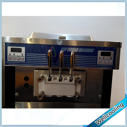 Frozen Yogurt Machine with Double Cooling System