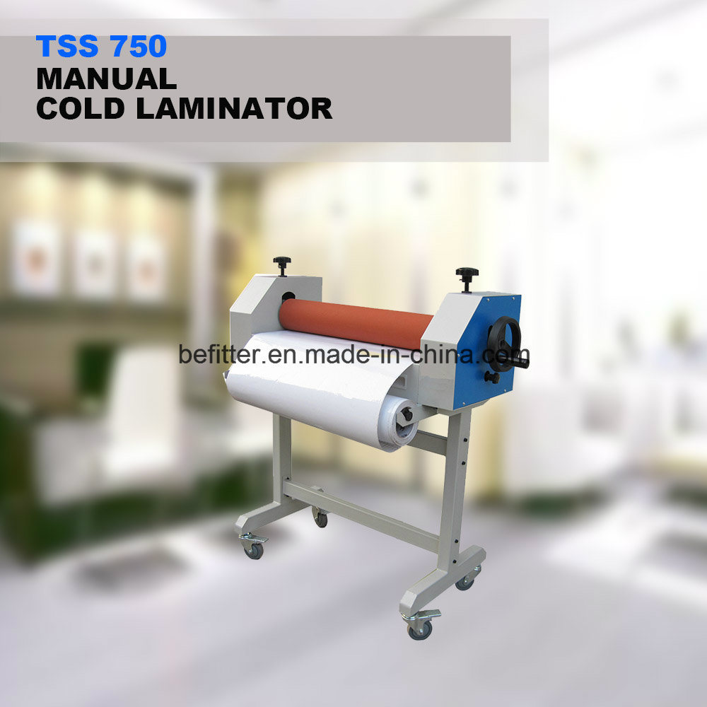 TSS750 30inch manual cold laminator with stand