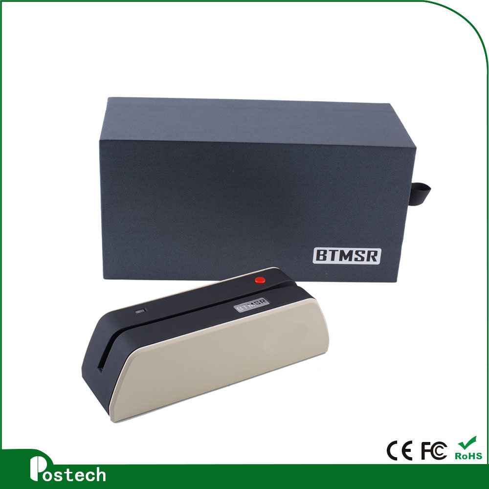 Track 1/2/3 Magnetic Card Reader/Writer Android Bt Msrx6 Bluetooth Card Writer