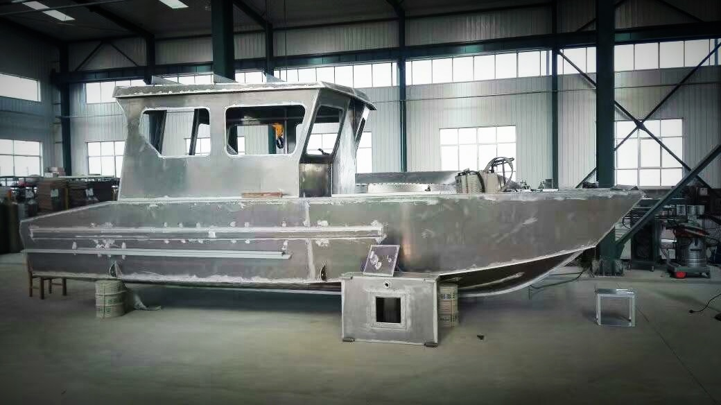 21FT 6.5m Aluminium Fishing Boat Qm6500