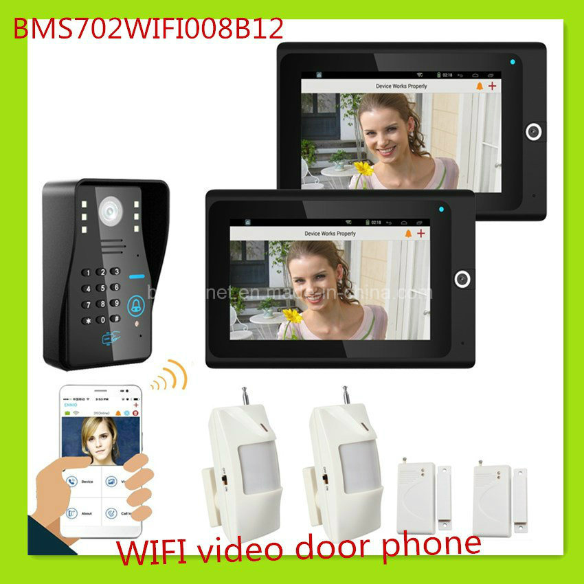 Newest Technology WiFi Video Door Phone Doorbell Home Security System