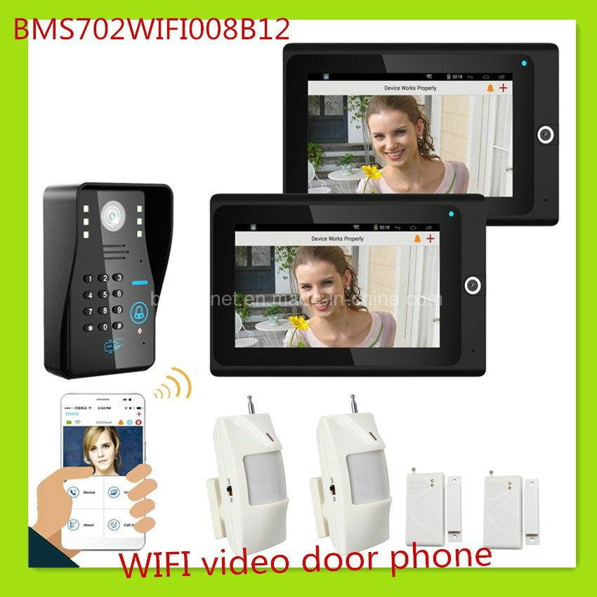 Popular WiFi Video Door Phone Doorbell Home Security System