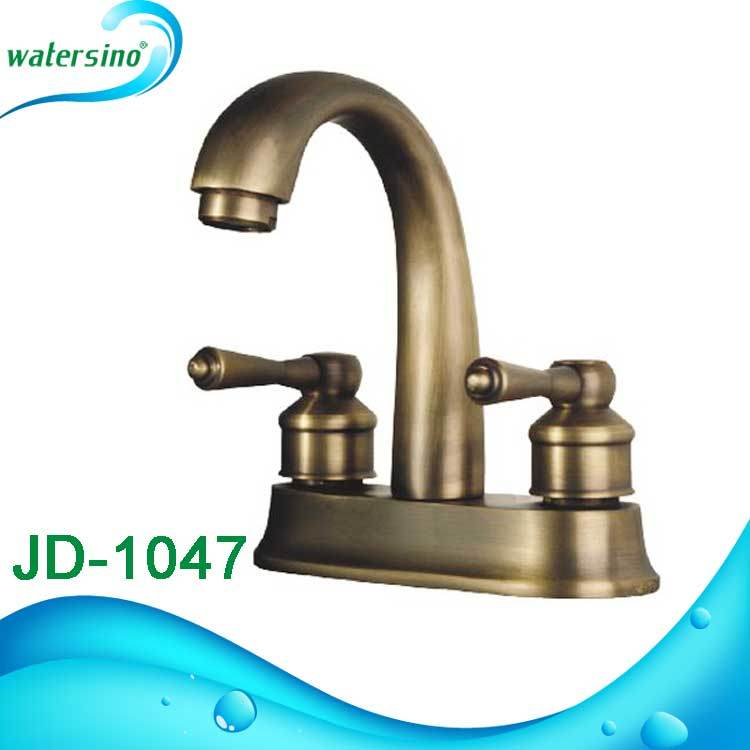 Waterfall Cupc Bronze Shower Deck Mounted 5holes Bath Mixer