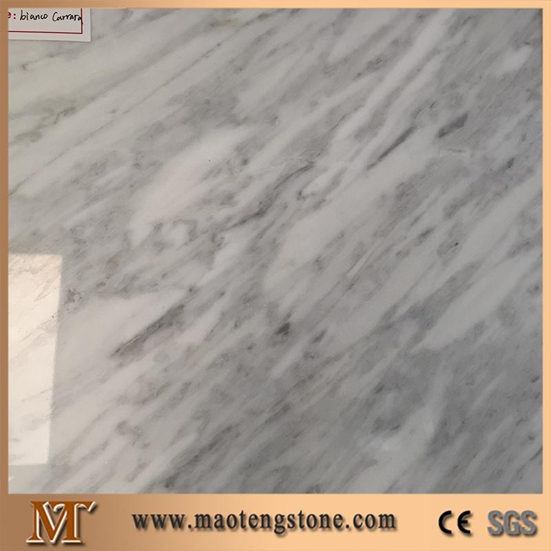 Italy Bianco Carrara White Marble Stone Slabs