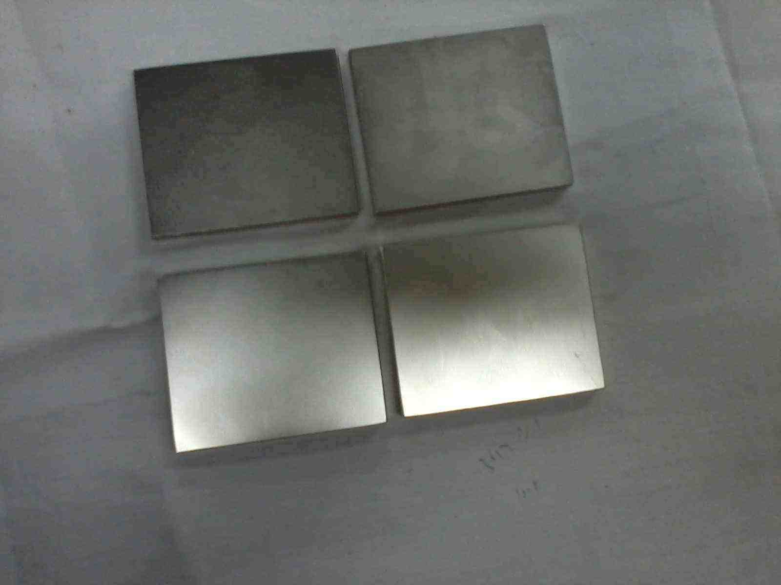 N42 Ni-Cu-Ni Plated Large NdFeB Block Magnets