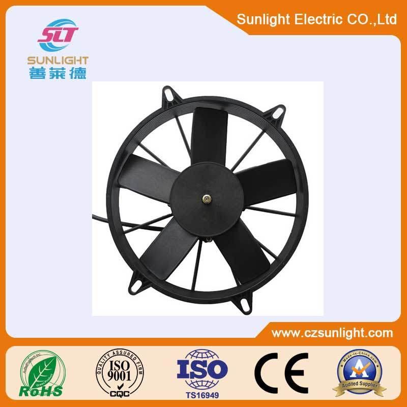 24V Brushless Condenser Fan DC Cooling Blower Fan Radiator Axial Fan