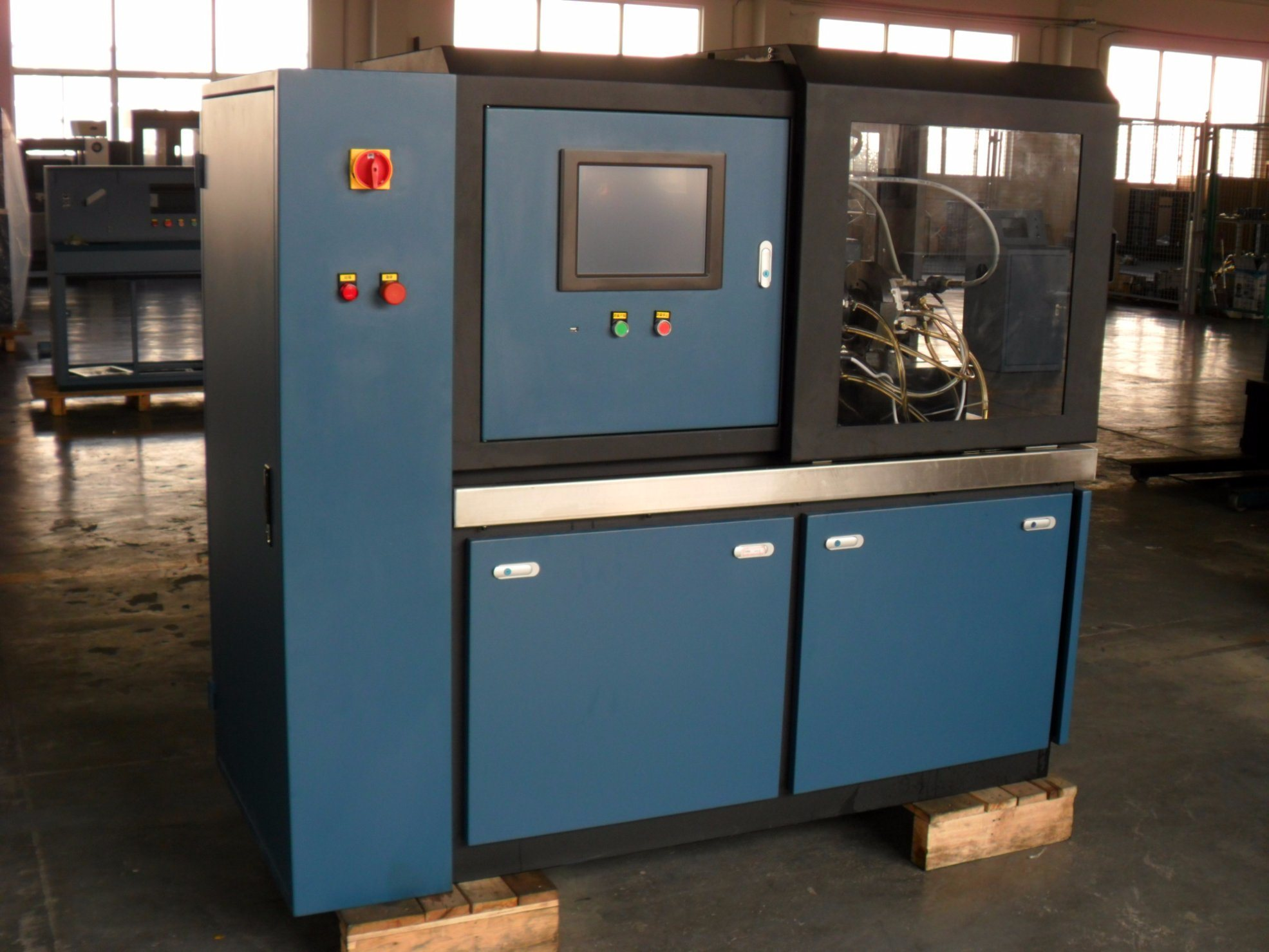 OEM Common Rail Diesel Fuel Injector Pump Test Bench