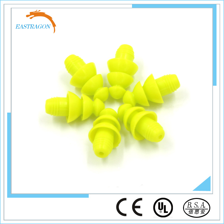 Hearing Protection Comfortable Silicone Earplugs for Sale