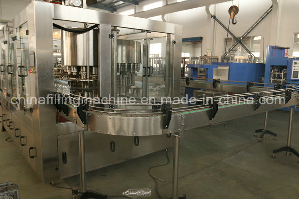 Hot Selling 3 In1 Pure Water Filling and Packing Line (24-24-8)