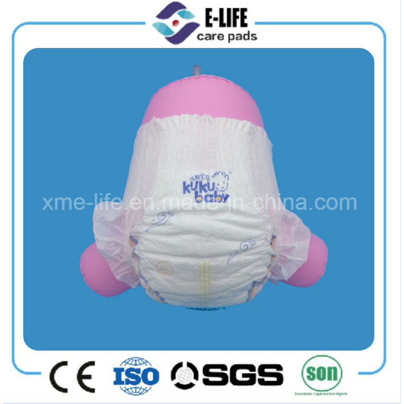New 3D Suspended Ultra Thin Full Back Elastic Waist Baby Diaper Factory