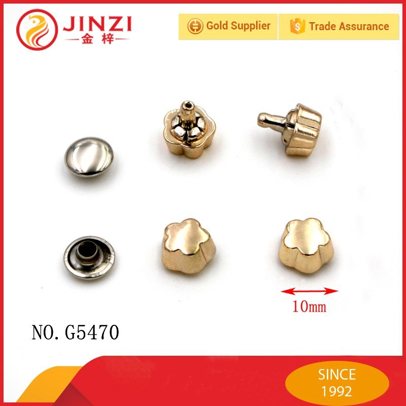 Custom Metal Stud Rivets for Garment Accessories
