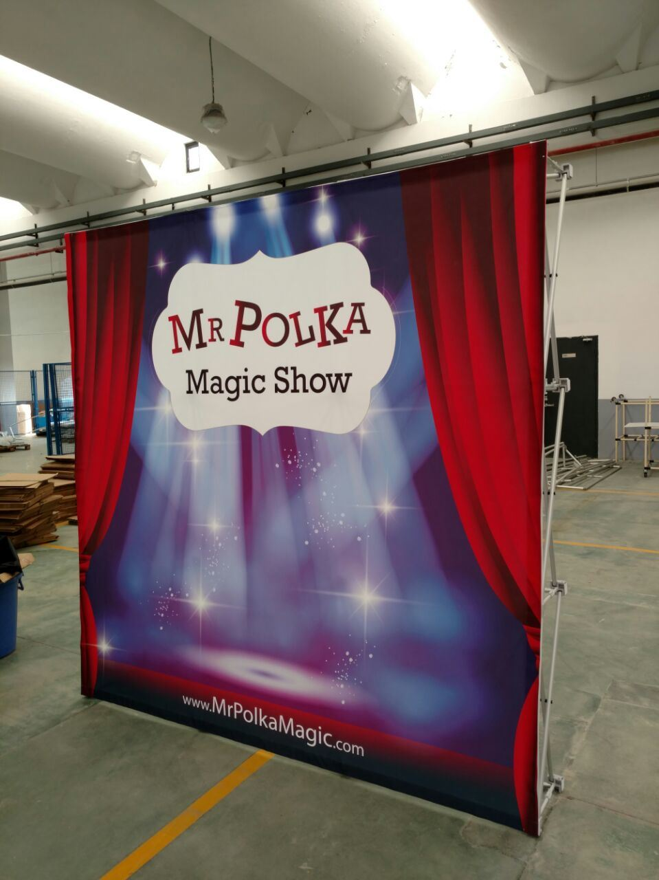 Portable Advertising Pop up Stands, Pop up Displays for Trade Show
