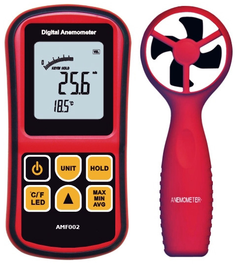 Digital Precision Portable Anemometer Amf002