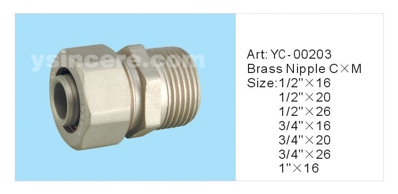 Compression Fittings for PEX Pipe