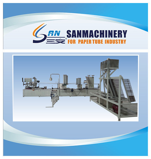 Automatic Paper Tube Making Machine- Spiral Winding