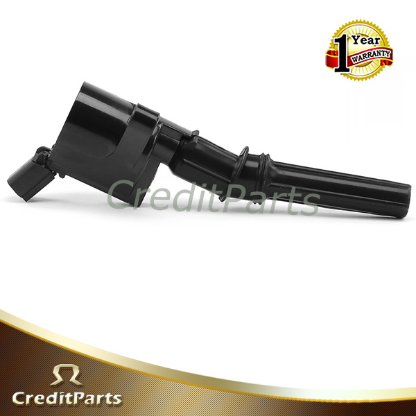Replacement Auto Ignition Coil for Ford E-150 E-250 4.6L 5.4L 6.8L (3W7Z-12029-AA, 3W7Z12029AA, DG508, 5C1412)