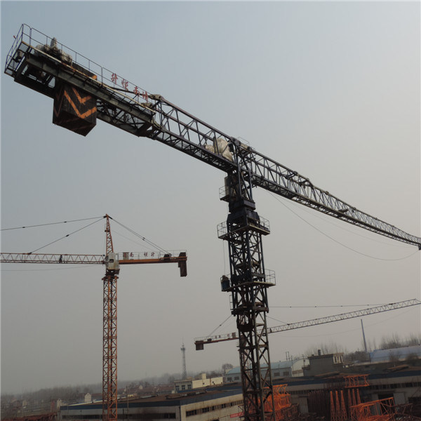 Flat Top Factory Offere 4-12t Tower Crane