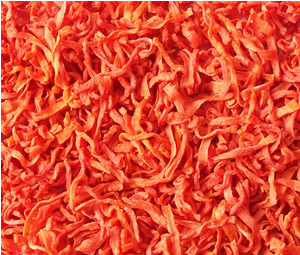 Dehydrated Carrot with High Quality