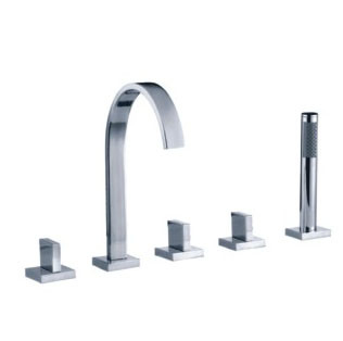 Bathroom Faucet on Bath Tub Faucet Set  57012    China Bath Tub Set Mixer  Shower Bath