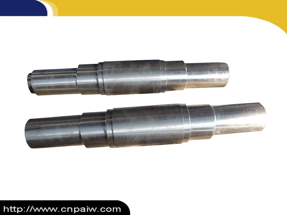 Precision Machined 4140 42CrMo4 Steel Hot Forged Shaft