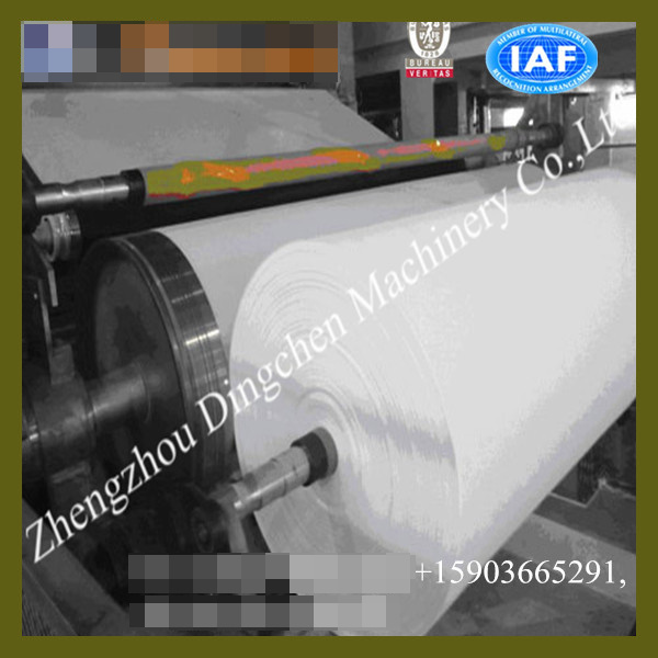 Small Investment 787mm 1tpd Toilet Tissue Paper Production Line